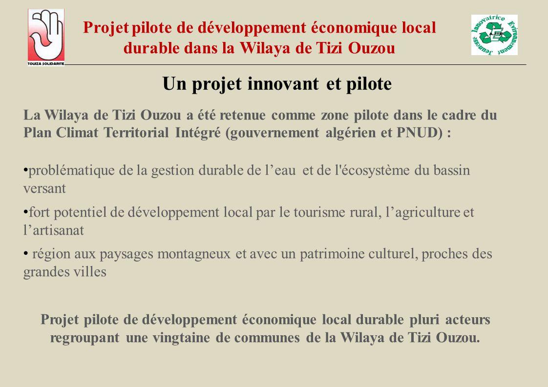 Un projet innovant et pilote