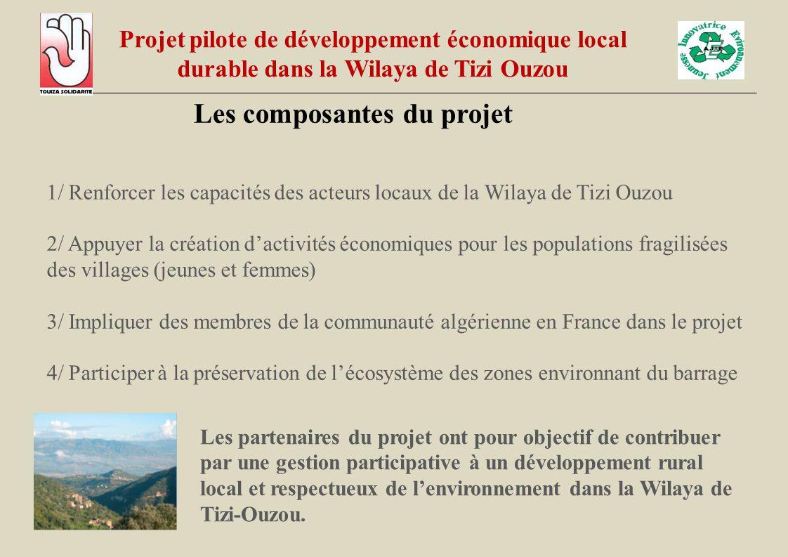 Les composantes du projet