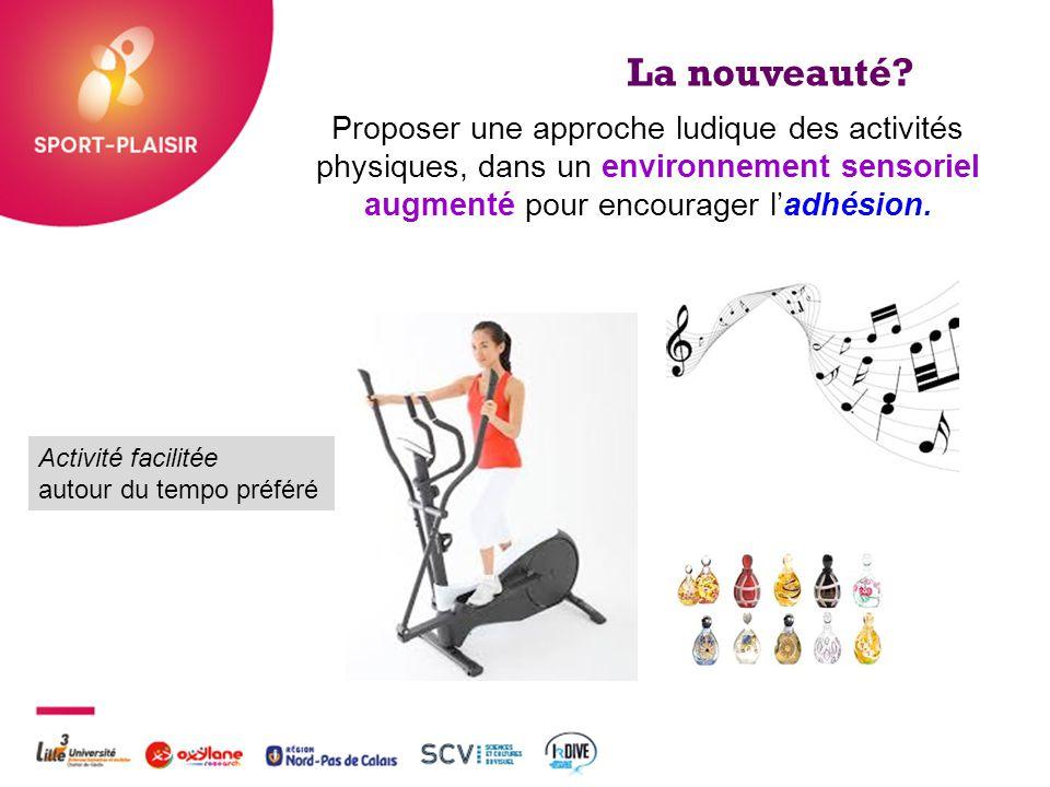 La nouveauté Proposer une approche ludique des activités physiques, dans un environnement sensoriel augmenté pour encourager l'adhésion.