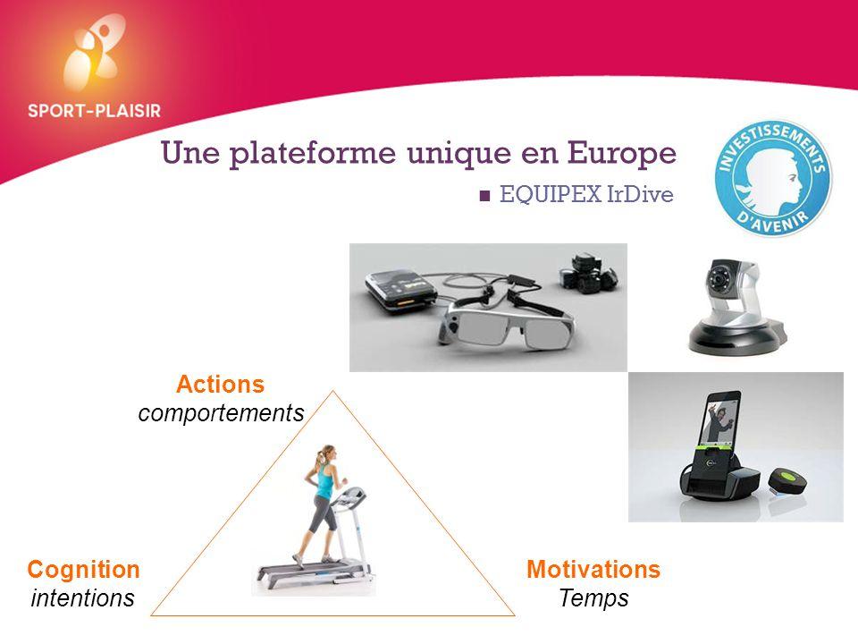 Une plateforme unique en Europe