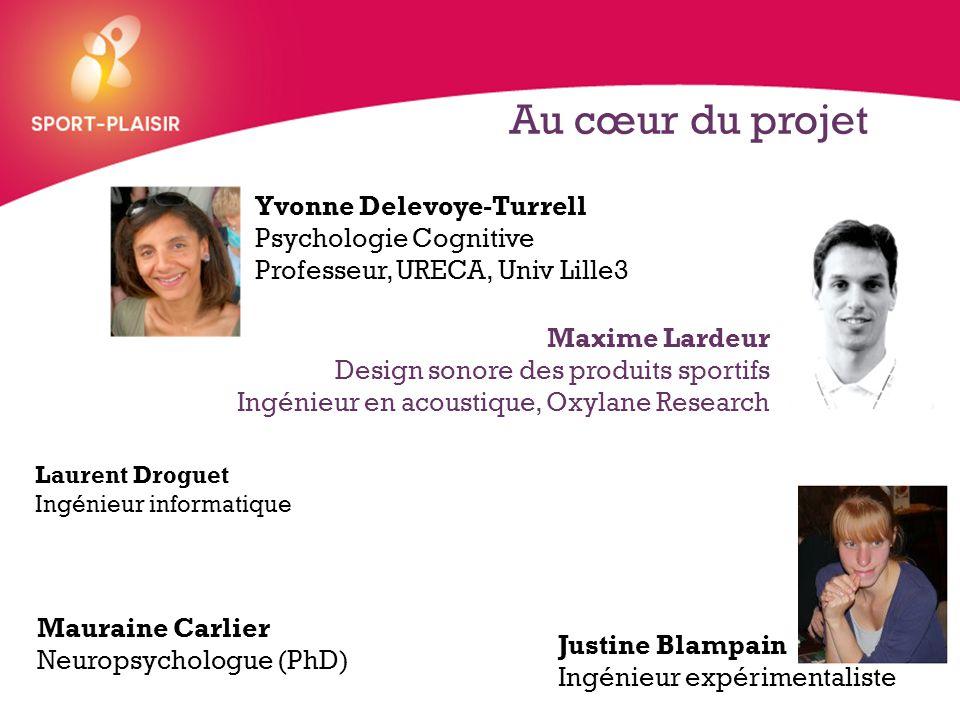 Au cœur du projet Yvonne Delevoye-Turrell Psychologie Cognitive Professeur, URECA, Univ Lille3. Maxime Lardeur.