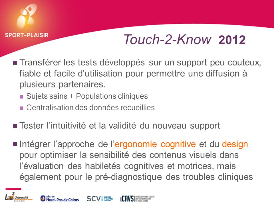 Touch-2-Know 2012