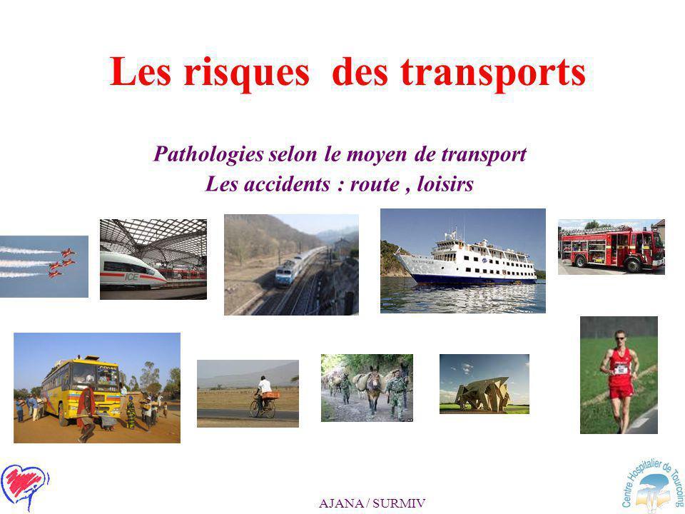 Les risques des transports