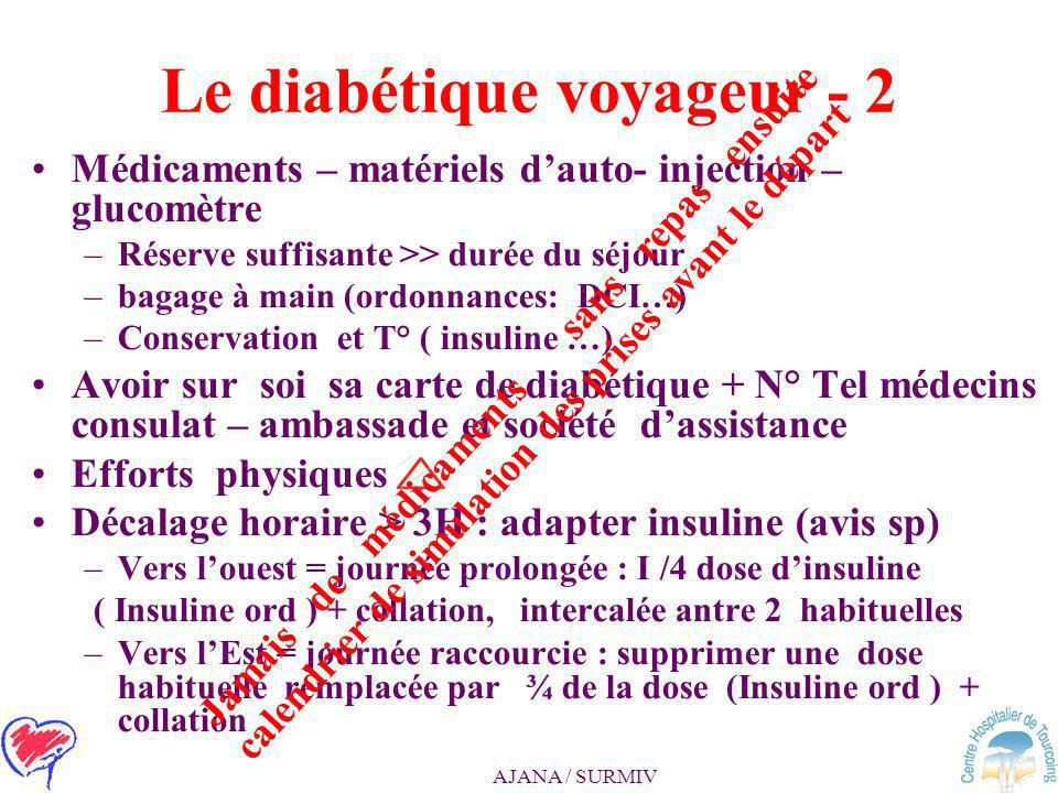 Le diabétique voyageur - 2
