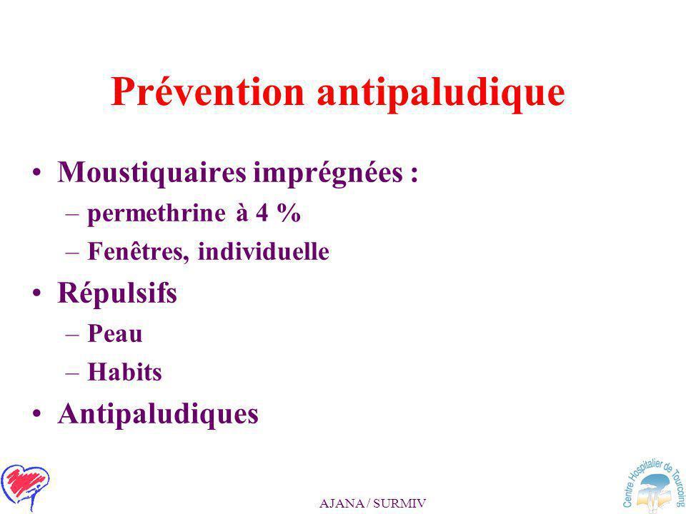 Prévention antipaludique