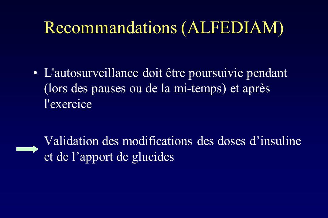 Recommandations (ALFEDIAM)