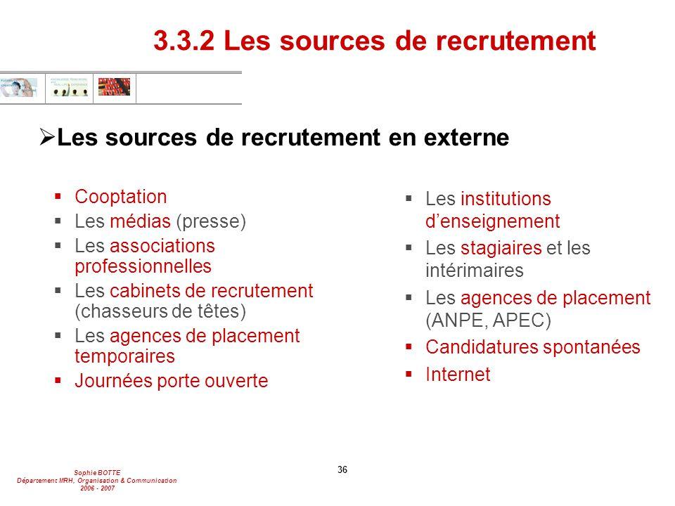 s u00e9ance 1 introduction - recrutement
