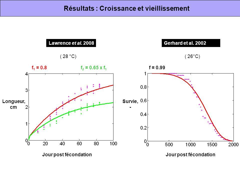 Résultats : Croissance et vieillissement
