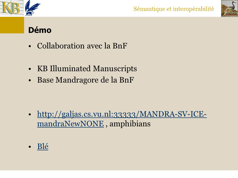 Collaboration avec la BnF KB Illuminated Manuscripts