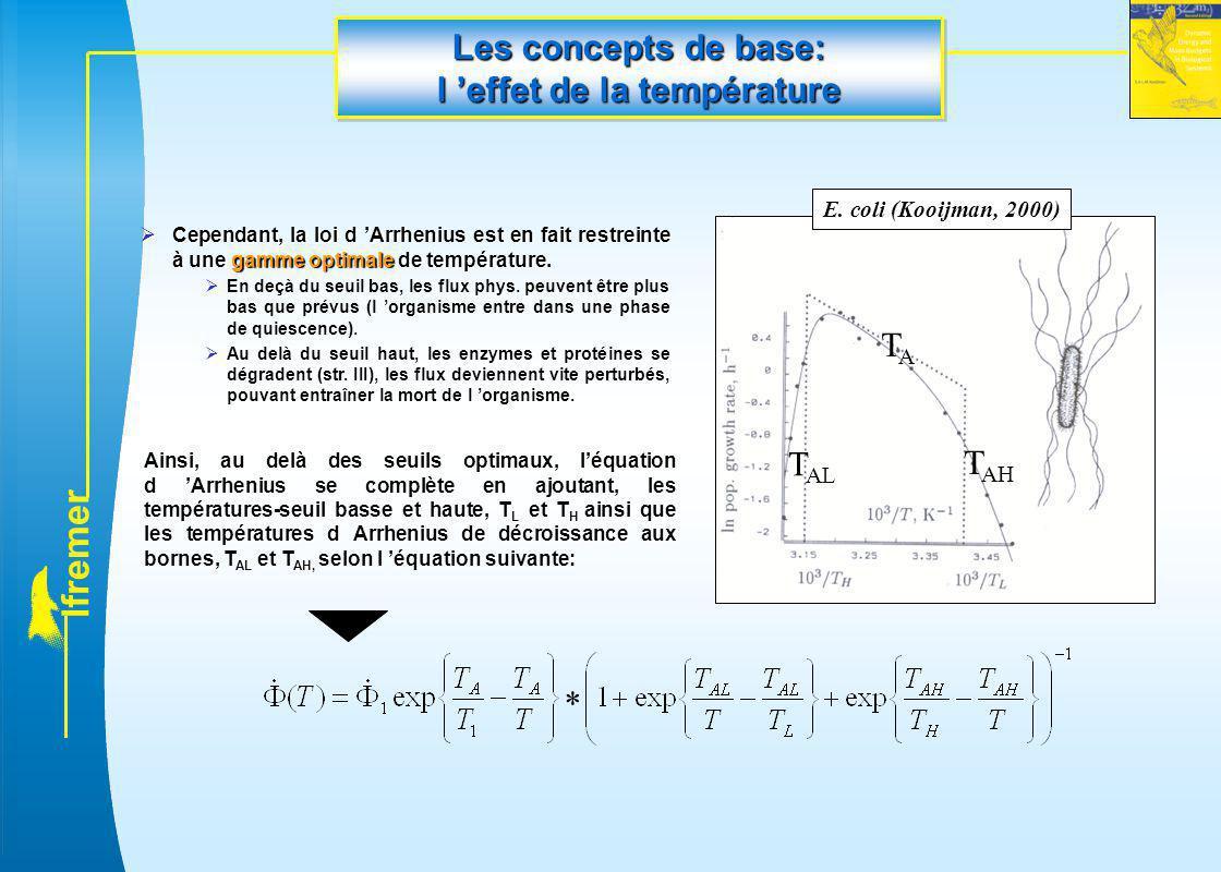 Les concepts de base: l 'effet de la température