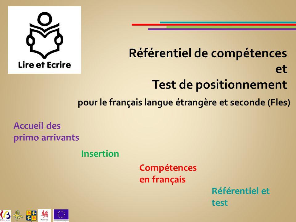 pour le français langue étrangère et seconde (Fles)