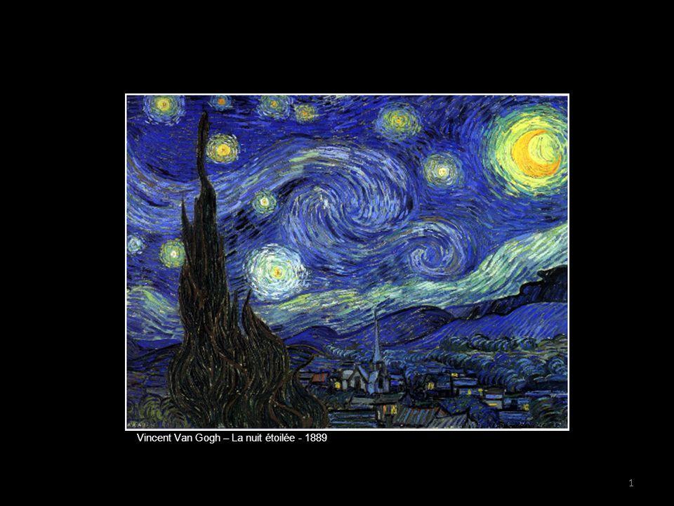 Vincent Van Gogh – La nuit étoilée - 1889