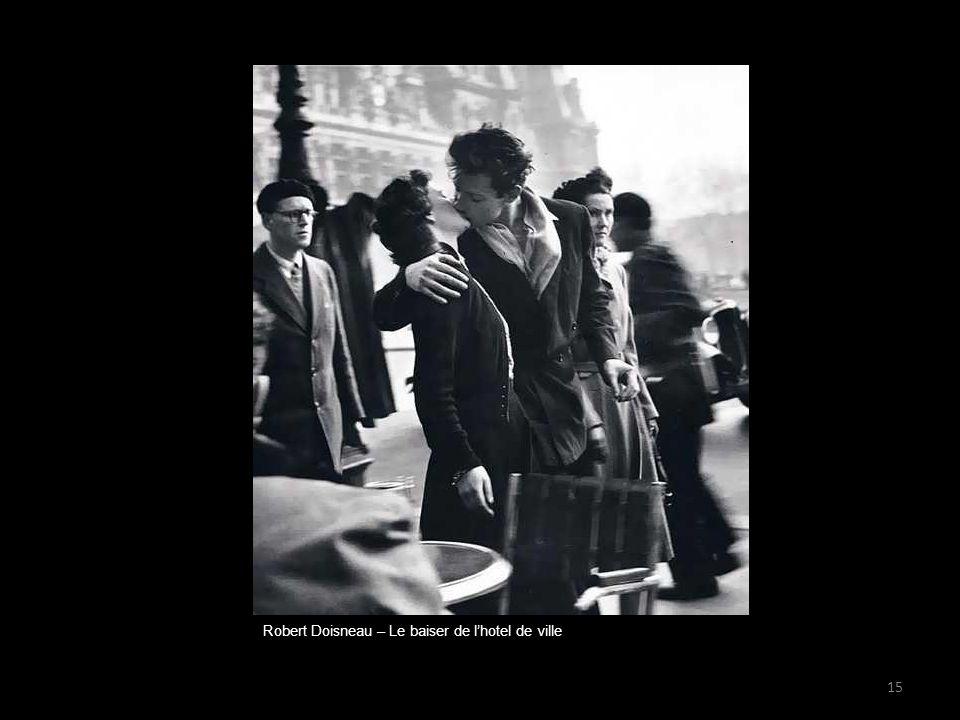 Robert Doisneau – Le baiser de l'hotel de ville