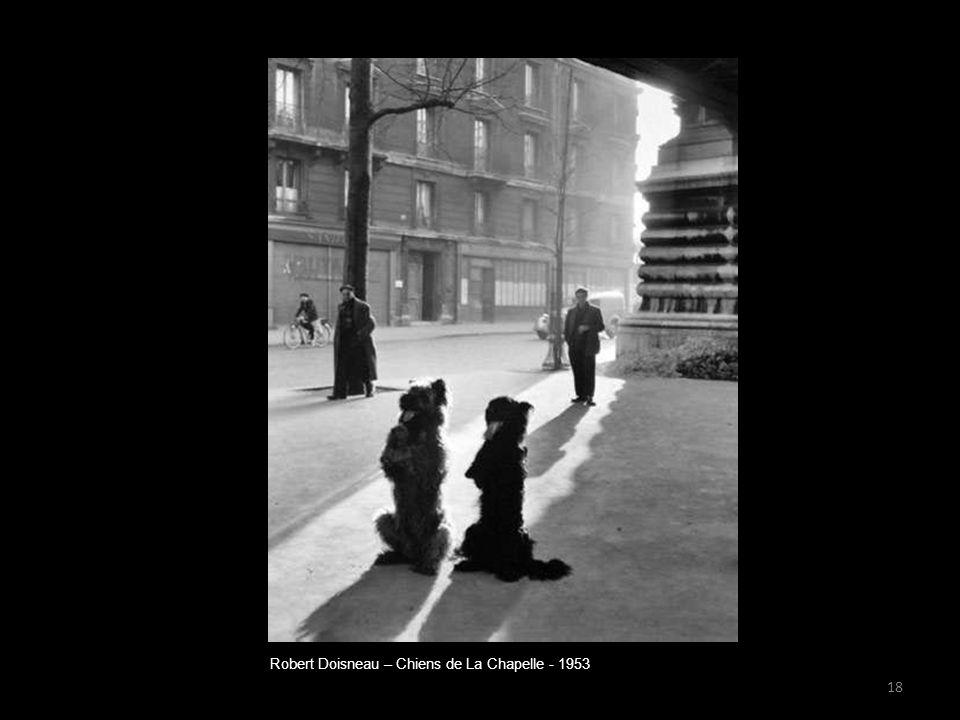 Robert Doisneau – Chiens de La Chapelle - 1953