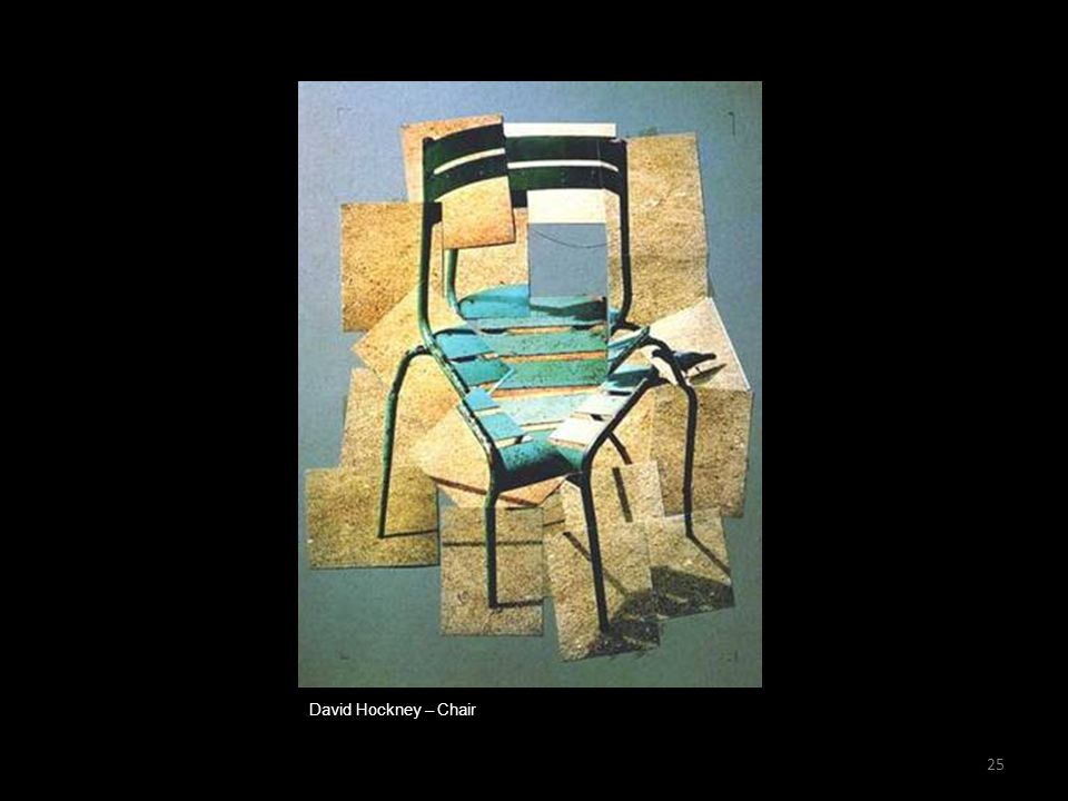 David Hockney – Chair