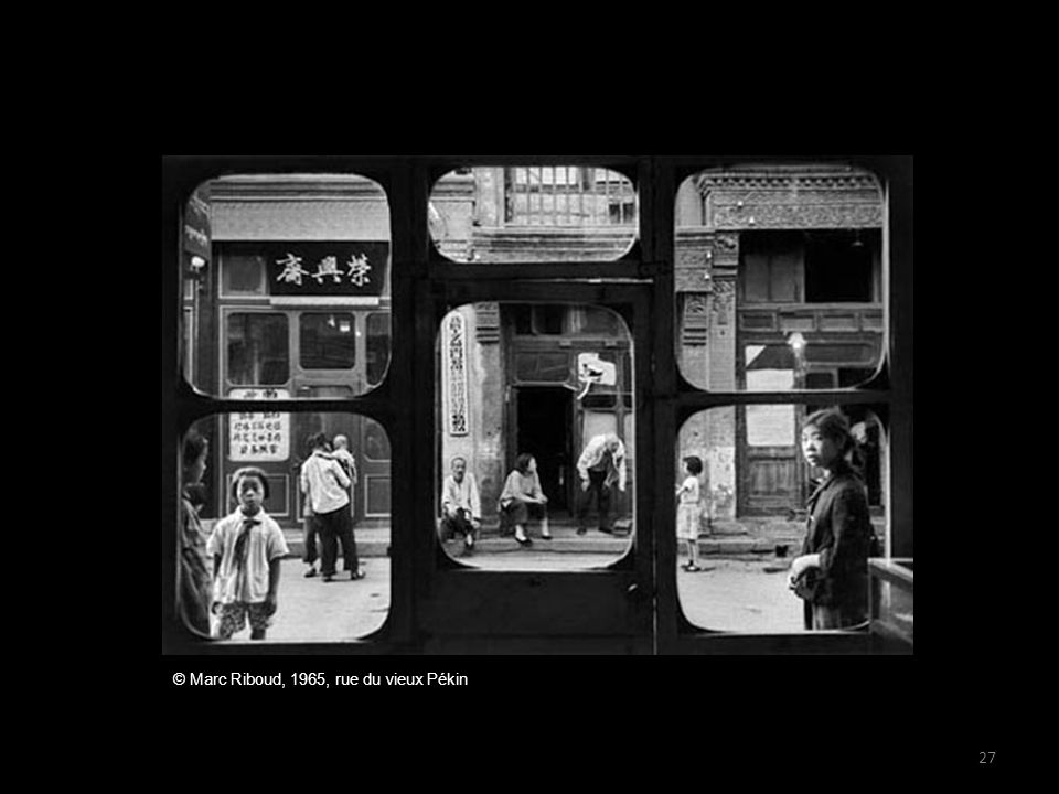© Marc Riboud, 1965, rue du vieux Pékin