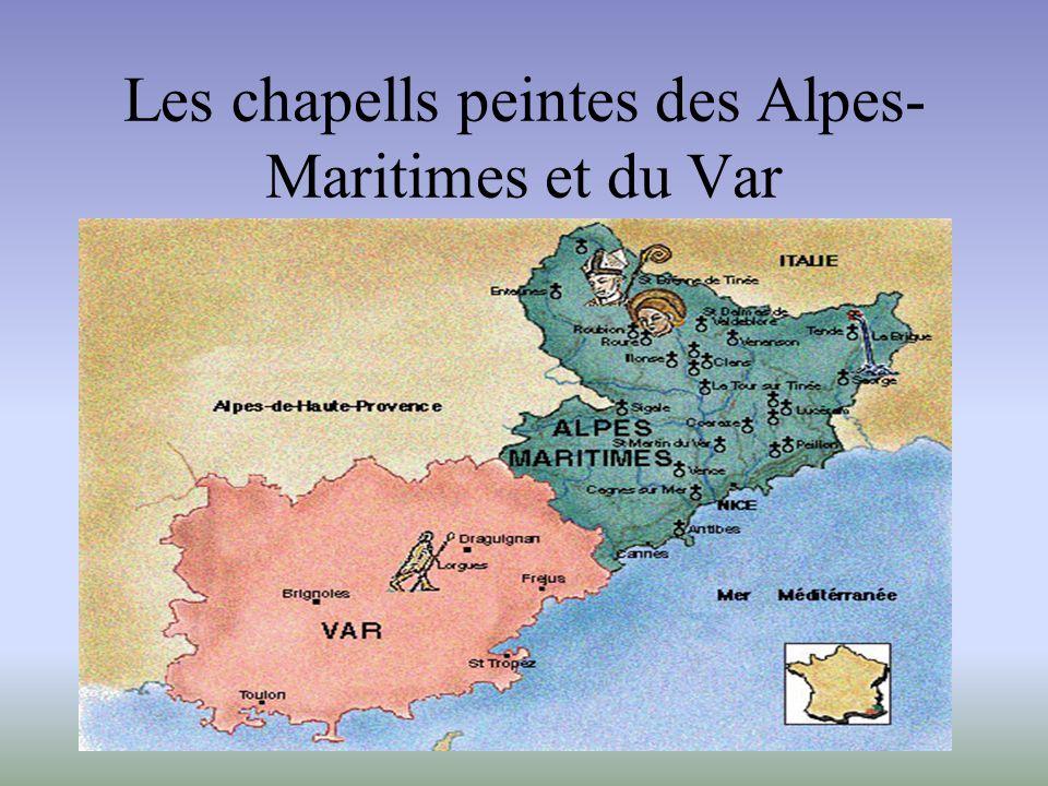 Les chapells peintes des Alpes-Maritimes et du Var