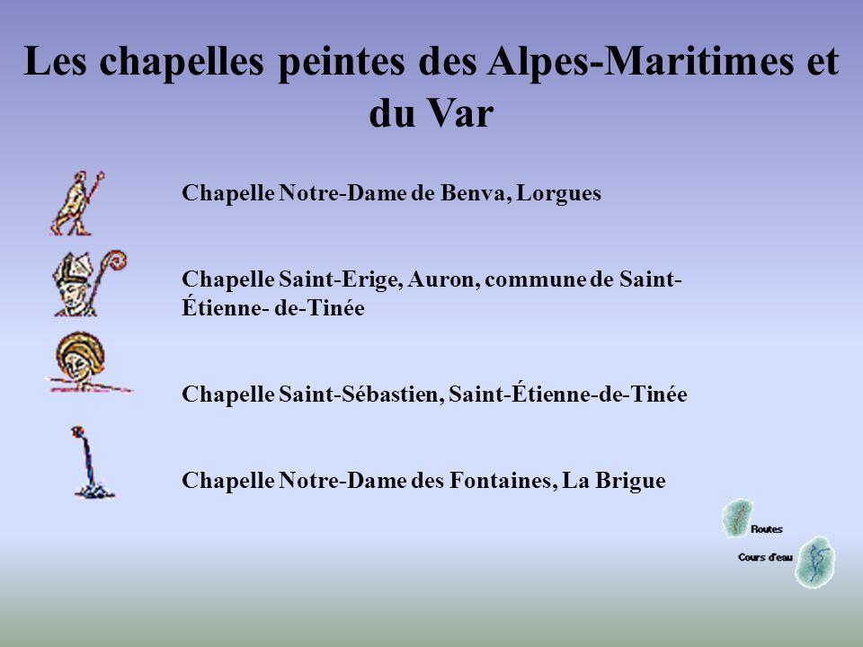 Les chapelles peintes des Alpes-Maritimes et du Var