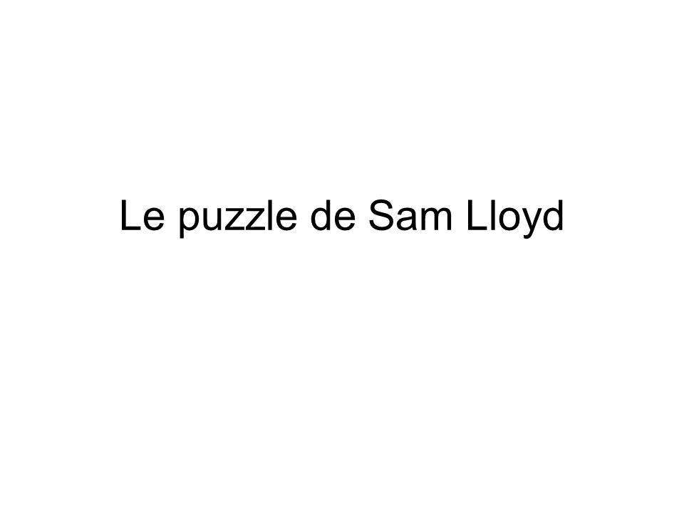 Le puzzle de Sam Lloyd