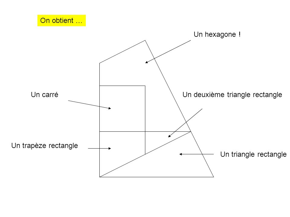 Un deuxième triangle rectangle