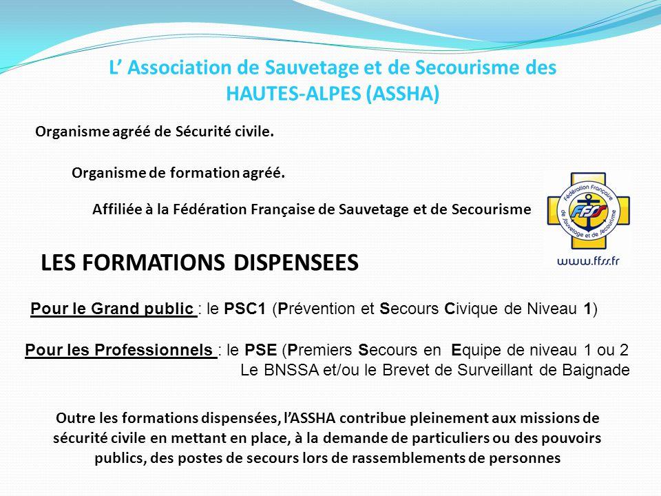 L' Association de Sauvetage et de Secourisme des