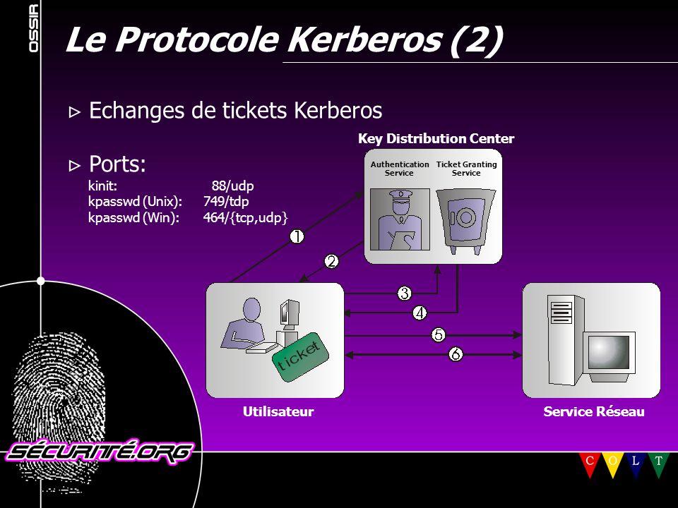 Le Protocole Kerberos (2)