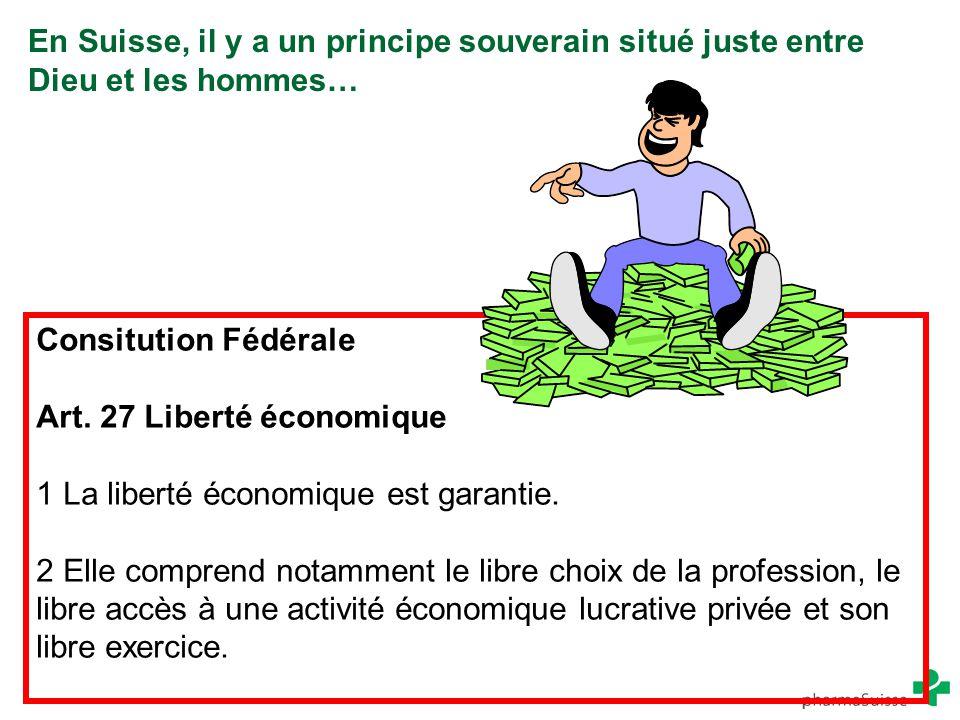 Art. 27 Liberté économique 1 La liberté économique est garantie.