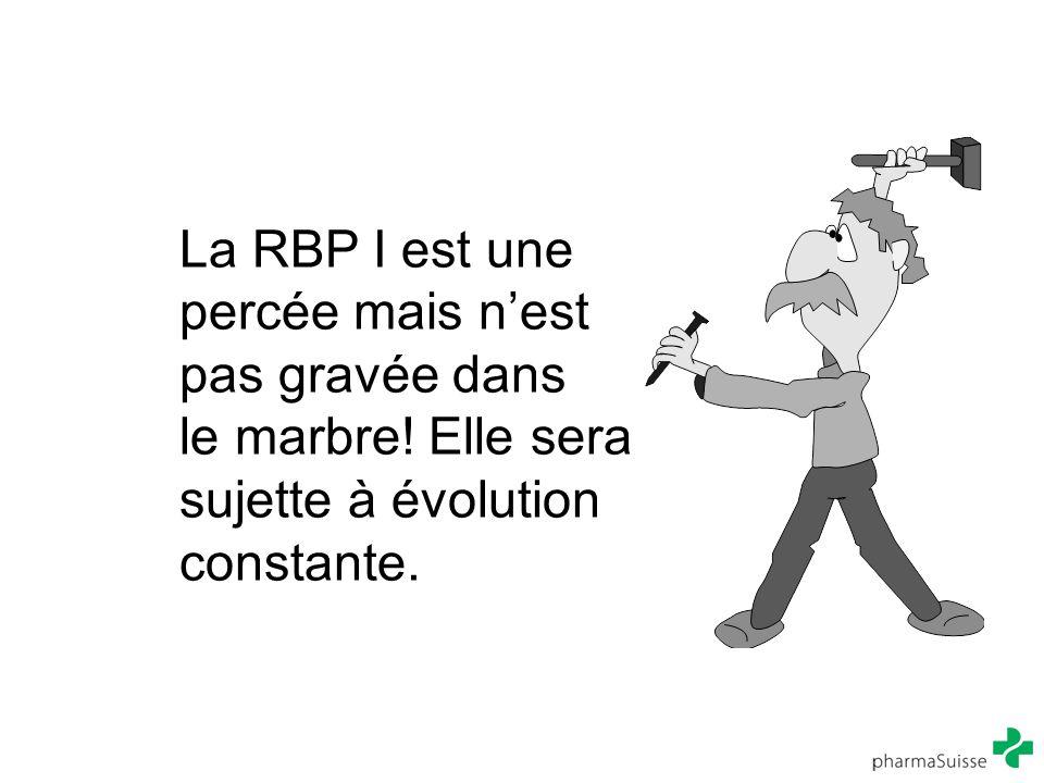 La RBP I est une percée mais n'est pas gravée dans le marbre