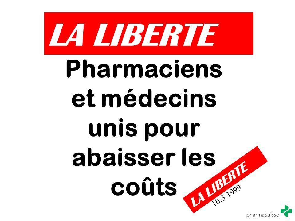 Pharmaciens et médecins unis pour abaisser les coûts