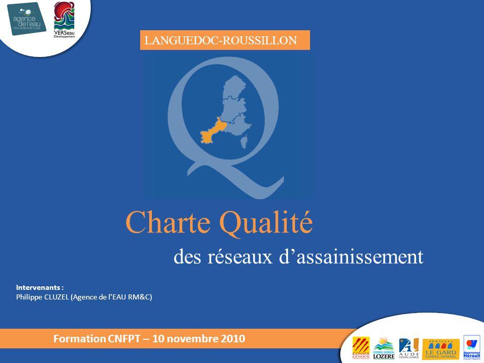 Charte Qualité des réseaux d'assainissement LANGUEDOC-ROUSSILLON