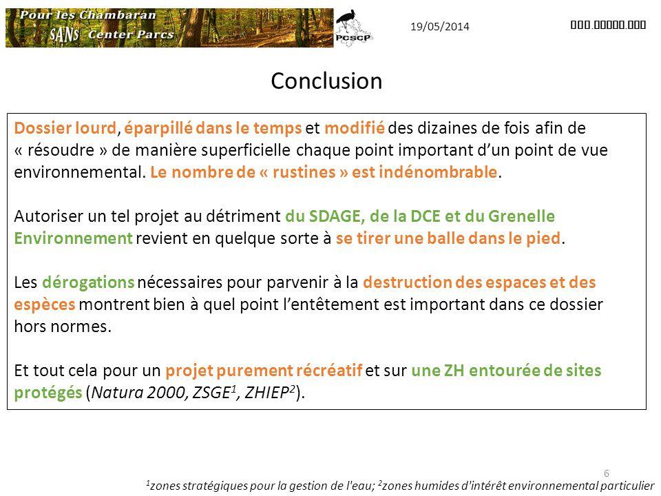 19/05/2014 www.pcscp.org. Conclusion.
