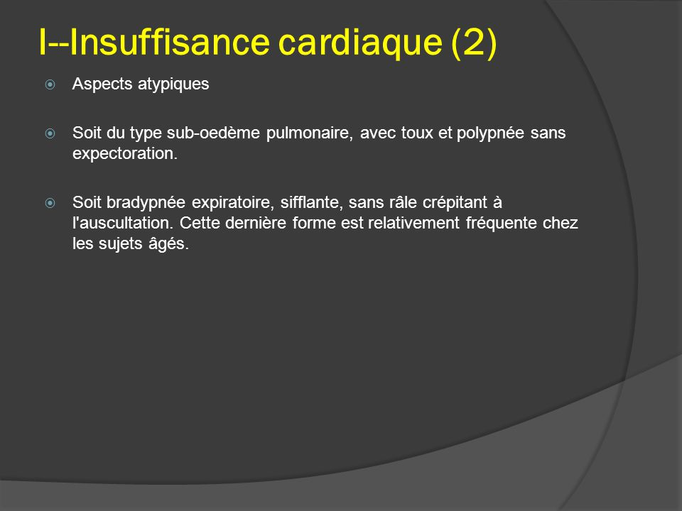 I--Insuffisance cardiaque (2)