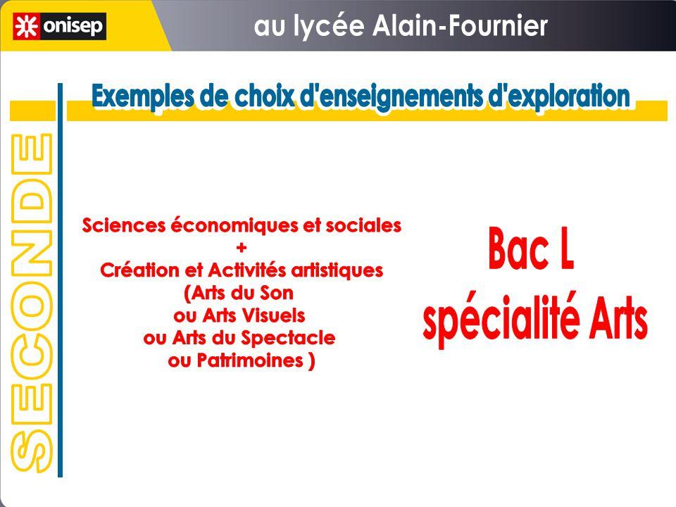 au lycée Alain-Fournier