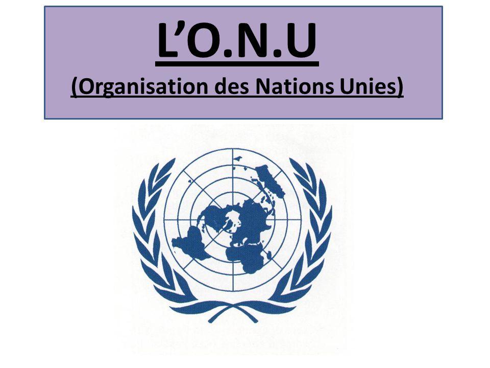 Resultado de imagen para Organisation des nations unies