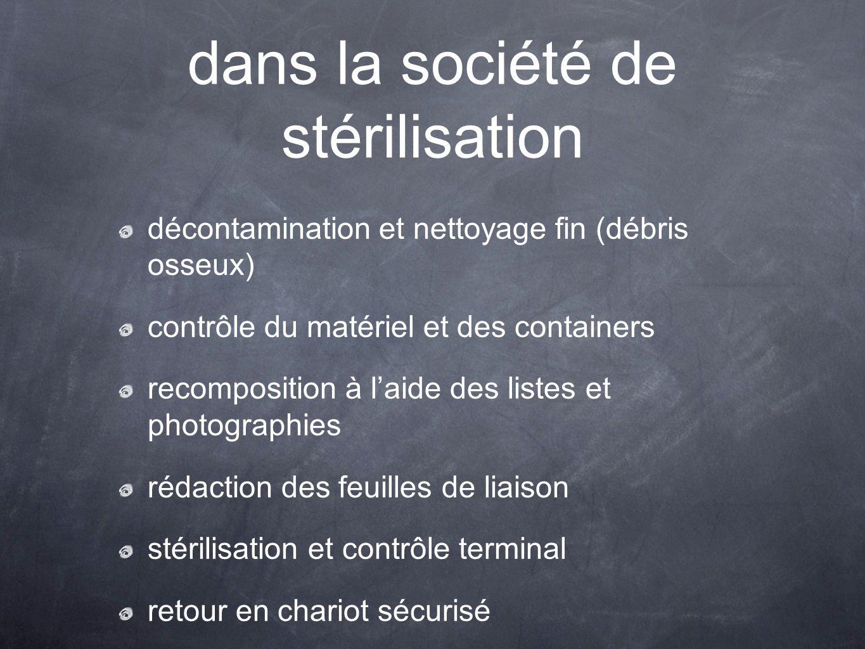dans la société de stérilisation
