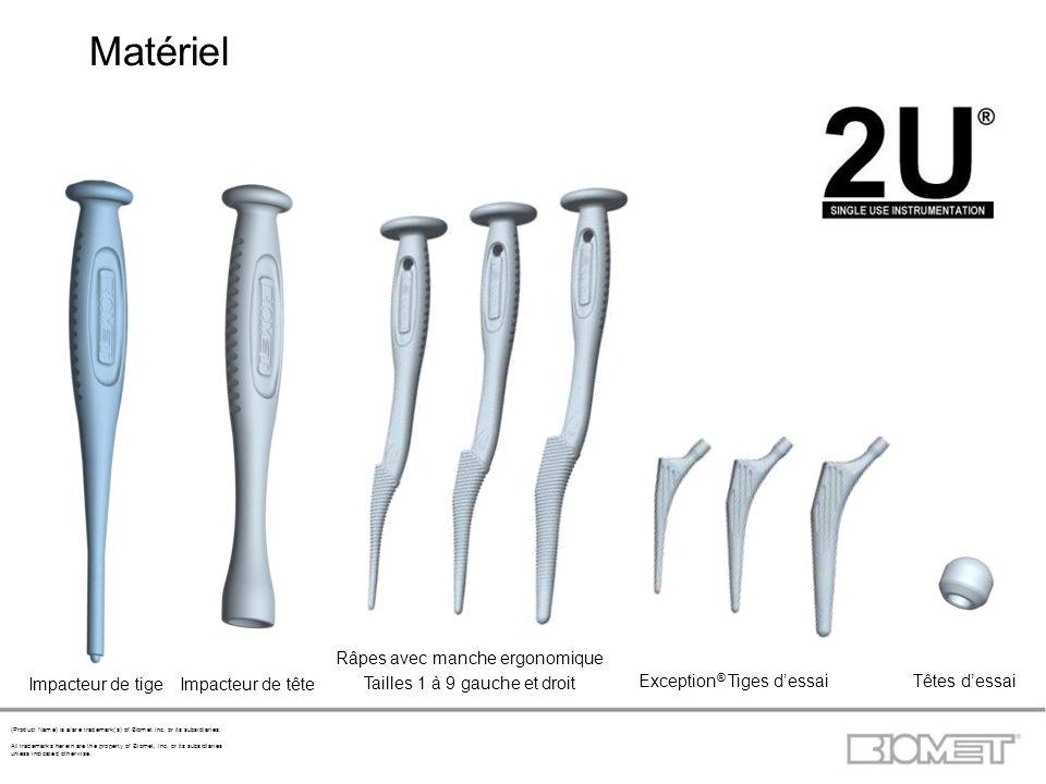 Matériel Râpes avec manche ergonomique Tailles 1 à 9 gauche et droit