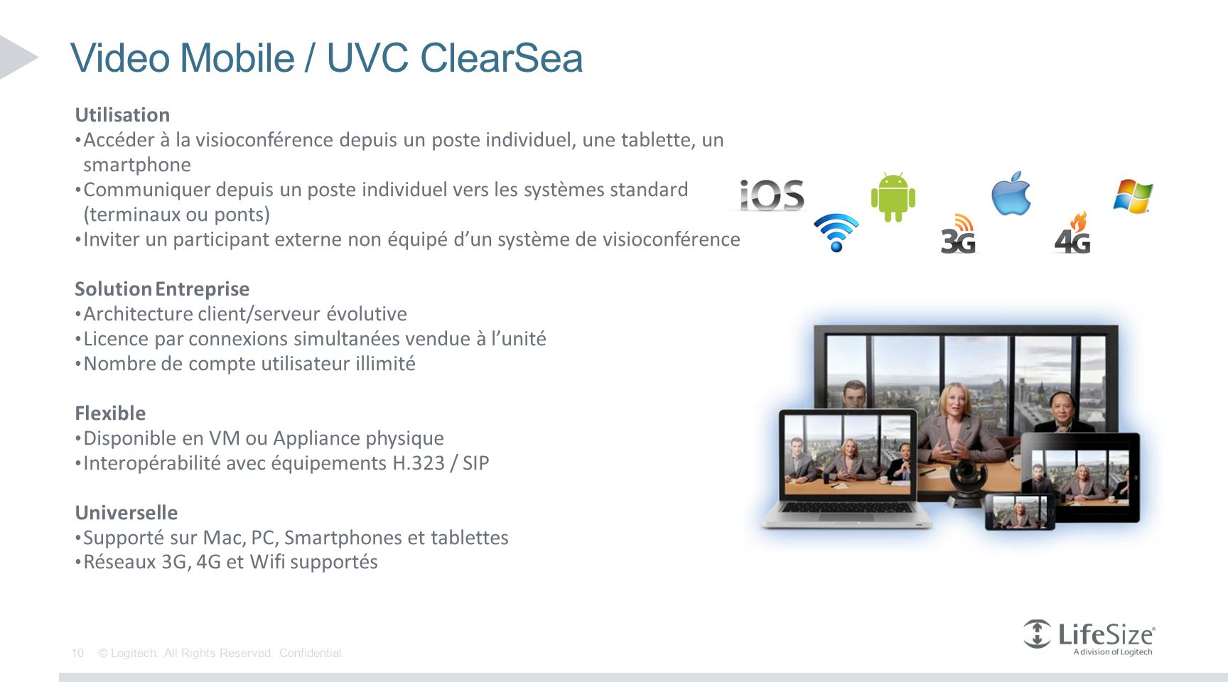 Video Mobile / UVC ClearSea