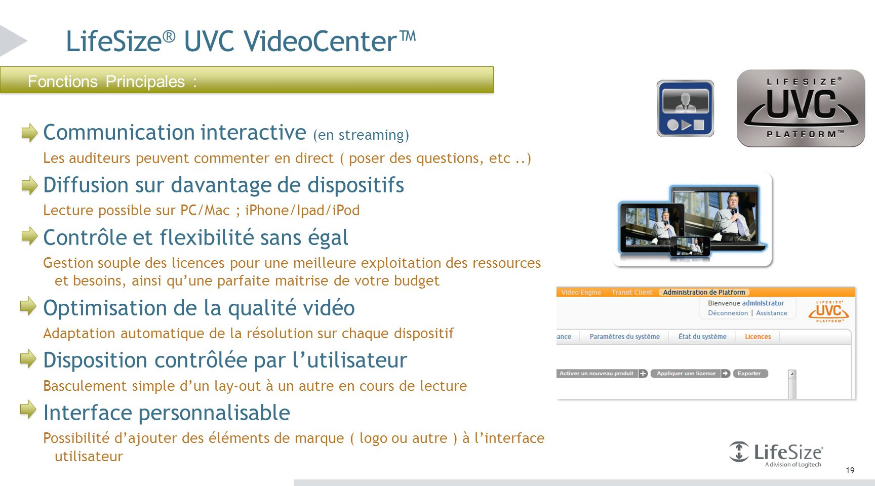 LifeSize® UVC VideoCenter™