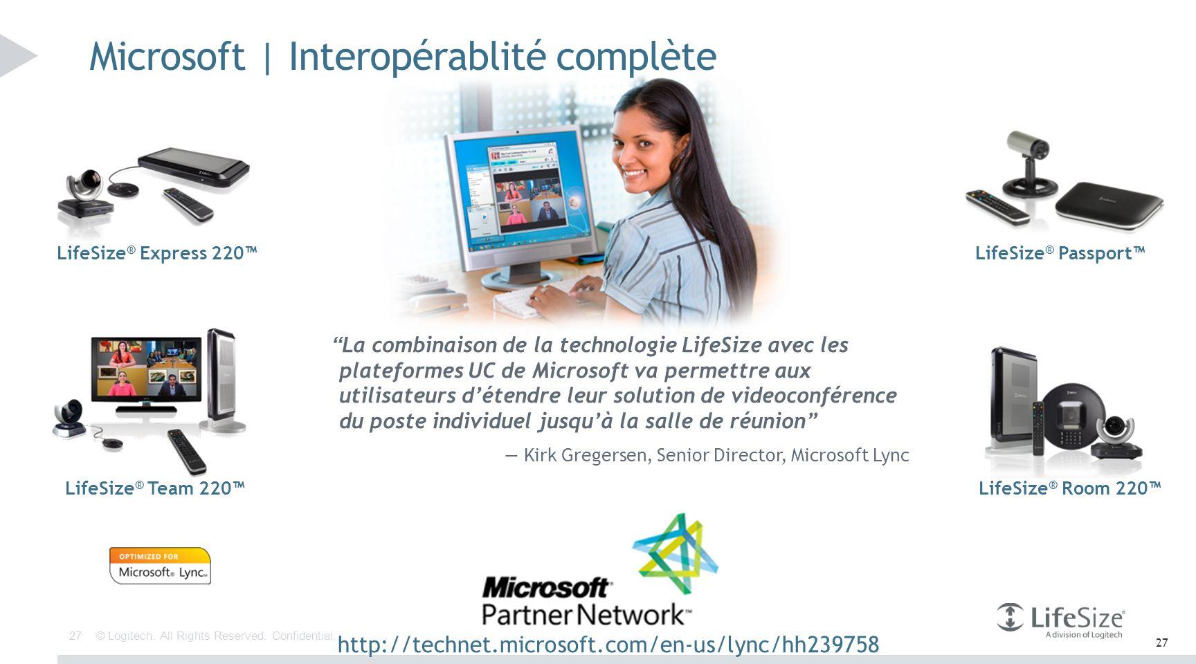 Microsoft | Interopérablité complète