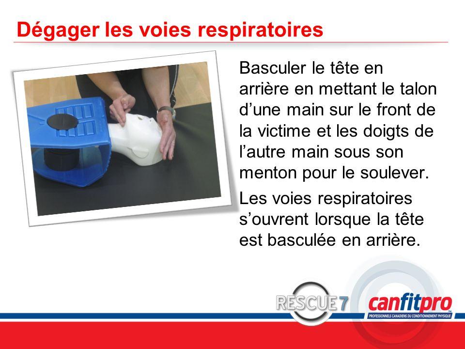 Dégager les voies respiratoires