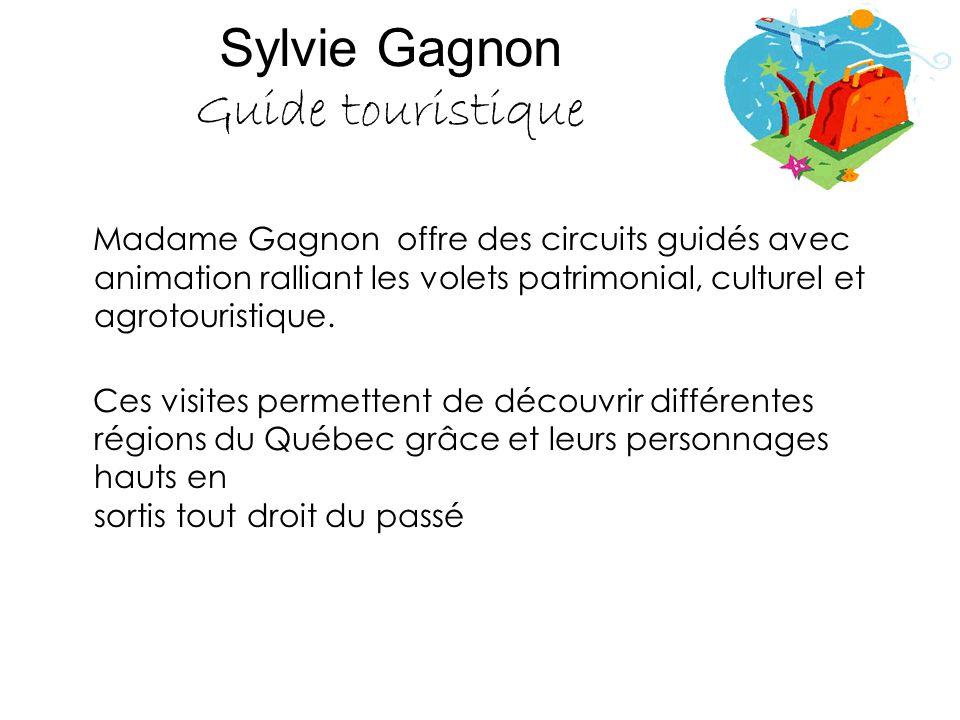 Sylvie Gagnon Guide touristique