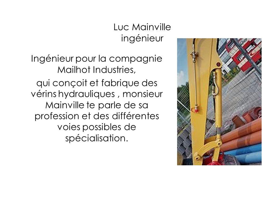Luc Mainville ingénieur