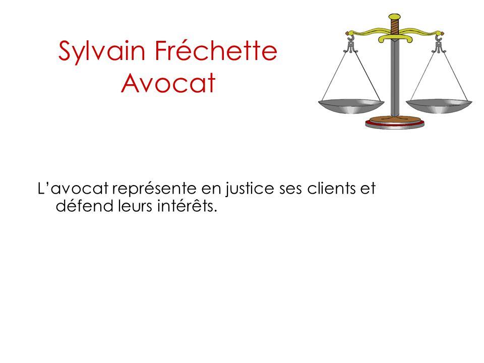 Sylvain Fréchette Avocat