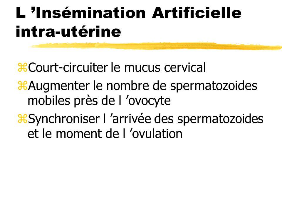 L 'Insémination Artificielle intra-utérine
