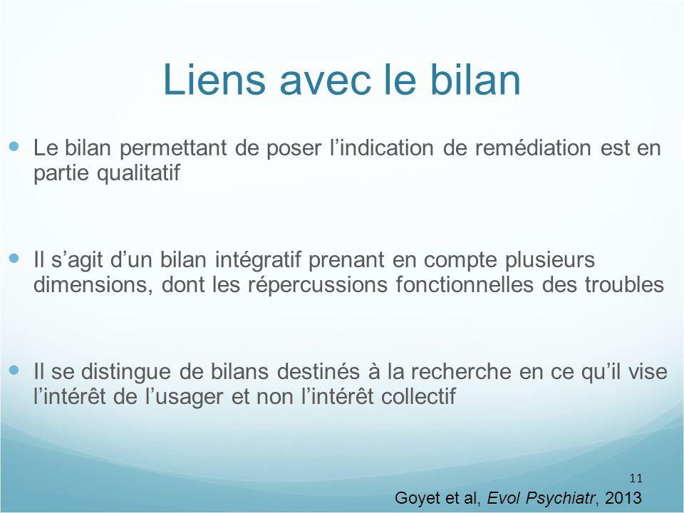 Goyet et al, Evol Psychiatr, 2013