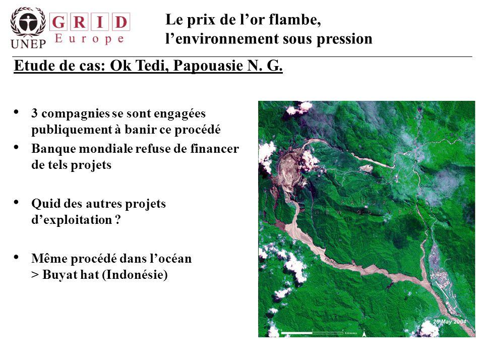 Etude de cas: Ok Tedi, Papouasie N. G.