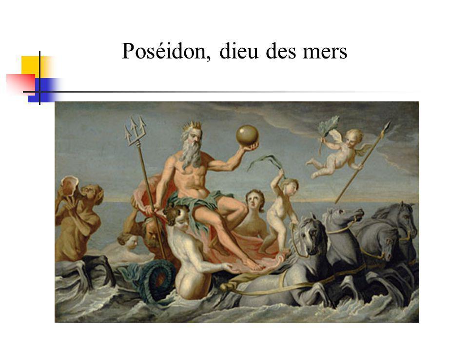 Poséidon, dieu des mers