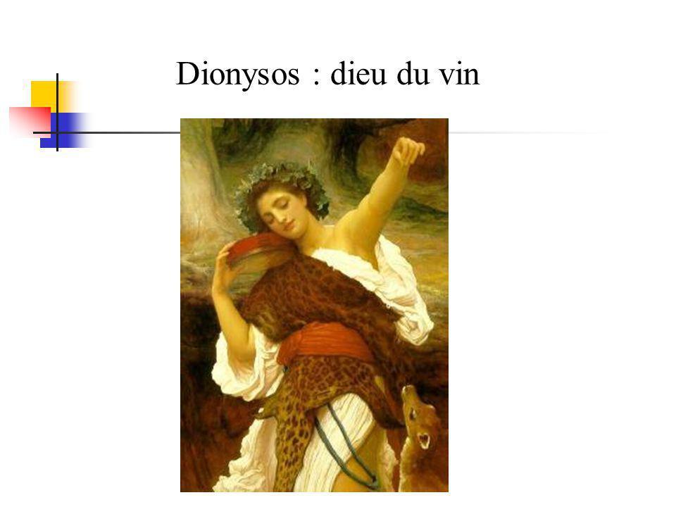Dionysos : dieu du vin