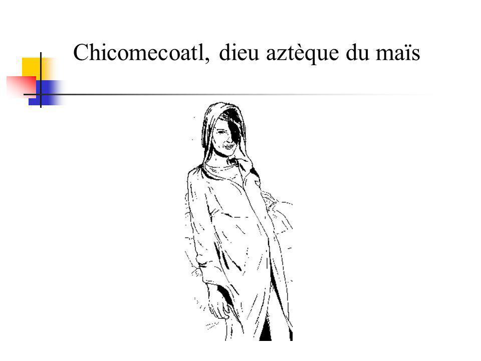 Chicomecoatl, dieu aztèque du maïs