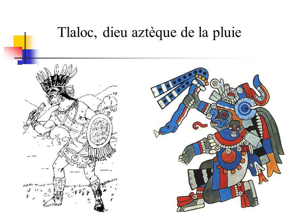 Tlaloc, dieu aztèque de la pluie